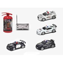 1: 58 Radio / C Car (4 fonctions / avec lumière / avec musique) -Police Car