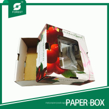 Caja de empaquetado de papel personalizado Cherry Fruit
