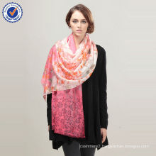 Wholesale Factory Direct Pop Design Pure 100% Cashmere Printing Shawl SWC729