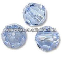 2015 Crystal glass cut beads,cheap glass beads