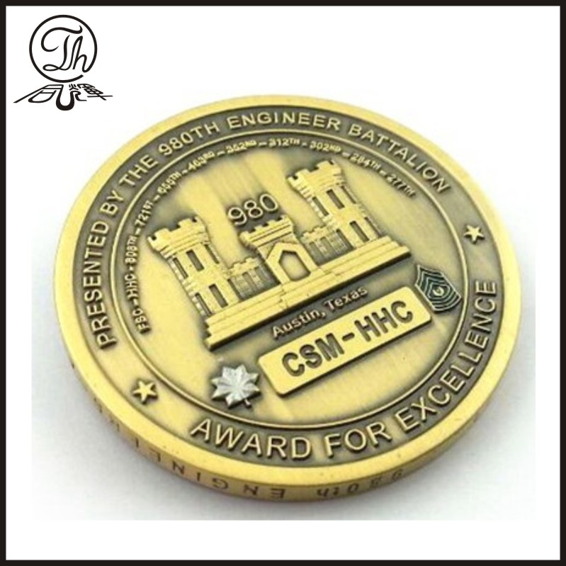 Making challenge coin force military