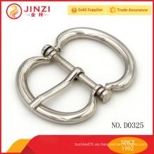 JINZI METAL OEM hebilla de metal que entrega los accesorios de la bolsa