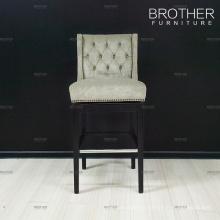 Tabourets de bar en bois design moderne en bois chaises hautes pour la maison et le bar