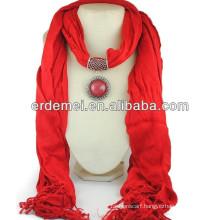 new style hijab mode jewelry scarf 2014