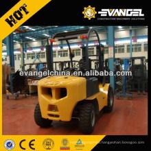 YTO 3ton Rough Terrain Diesel Forklift CPCD30 For Sale