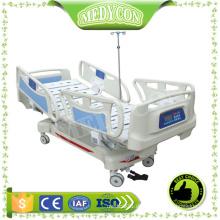 CE ISO Multifunktions 8 Funktionen mit Wägesystem ICU Elektrisches Krankenhausbett