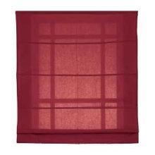beautiful plain color roman curtain