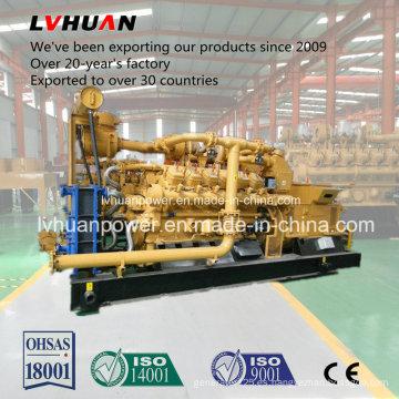 Conjunto de generador de gas natural 400kw o grupo electrógeno o planta de energía para CHP LNG CNG