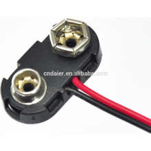 Custom Made Wholesale 9v Wire Battery Snap Clip