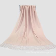 Fashion Accessories Light Skin Color Cashmere Wrap Lady Scarf