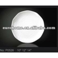 Thali vajilla placas de cerámica / platos P0526