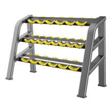 Équipement commercial de gymnastique de support d'haltère