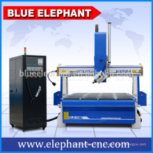 ELE- 1530 - 4A cnc router 4 axis machine with CE,CIQ