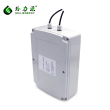 Custom deep cycle solar system battery 12v 24v 100ah new energy storage solar battery
