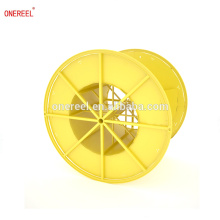 reinforced empty steel wire cable drum