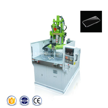 Telefonhylsa Rotary Plastic Injection Molding Machine