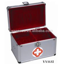 fabricante de la caja del kit de primeros auxilios del aluminio alta calidad