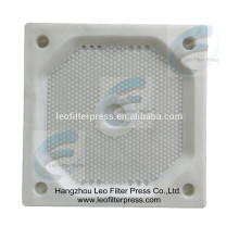 Leo Filterpresse Kammerfilterplatte, Vertiefte Kammerfilterplatte für Kammerplattenfilterpresse, Leo Filterpresse China