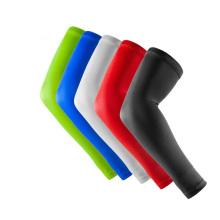 Manga de braço de compressão atlética esportiva