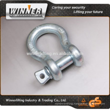 G209 G210 G2130 G2150 US type high tensile forged shackle, commercial bow shackle