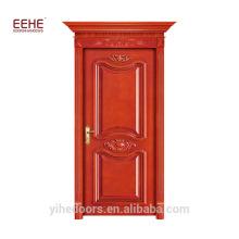 Porta de madeira de teca e porta de madeira maciça Design Guangdong Factory