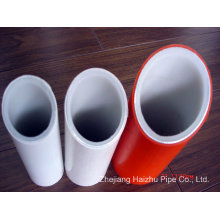 Tubo de plástico de gran tamaño compuesto (PE-al-PE, pex-al-pex) Tubo de agua