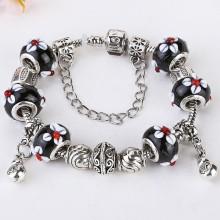 most popular products DIY Jewelry,charm Glass beads bracelet