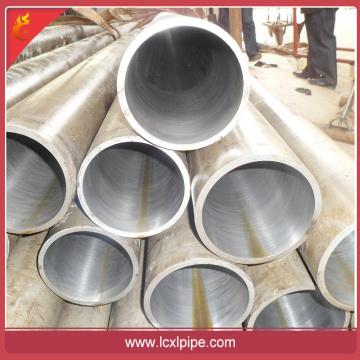 Melhor preço Material St44 \ st52 tubo de aço sem costura