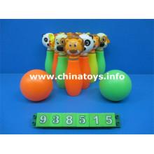 Nuevo juego de bolos de juguetes de plástico (938515)