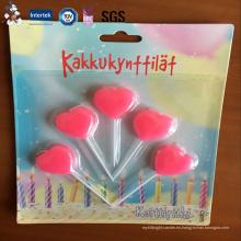 Nuevo diseño elegante popular de la llegada Nuevo producto profesional personalizado vela del cumpleaños