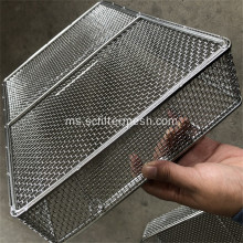 Makanan Gred Stainless Steel Mesh Baskets