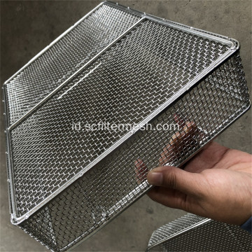 Keranjang Stainless Steel Mesh Food Grade