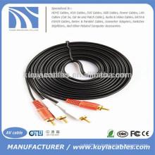 Аудио кабель Кабель 2RCA для 2RCA двойной кабель 5 м