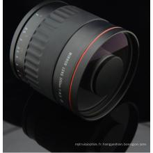 Lentille de miroir de 500mm f / 6.3 pour Sony