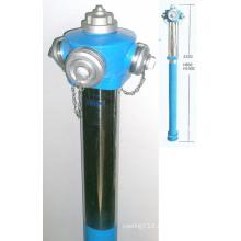 Dn80, Dn100 Outdoor Pillar Fire Hydrant with Pn16