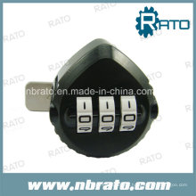 ABS Triangle Security Combination Lock