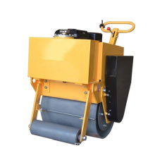 Bergetar Tangan Beroperasi Single Wheel Road Roller