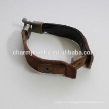 Bracelet en cuir stingray bracelet en mode simple bracelet en couleur PSL026