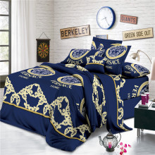 100% Polyester Disperse Print Fabric Versace Bed Sheets