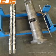barril de gêmeo paralelo 85/17 para extrusora de PVC
