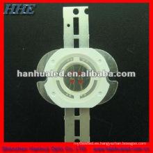 Epistar chip led 5w diodo led de alta potencia con disipador de calor 130lm (blanco / amarillo / azul / color púrpura)