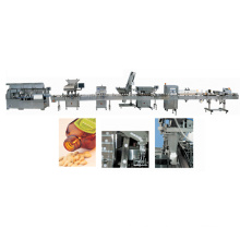 e-liquid filling and labeling line