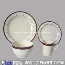Конструкция OEM ручной печати Набор посуды