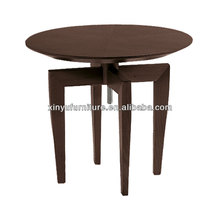 Modern round wooden dining table XT7003