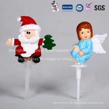 Großhandel Plastik Weihnachten Kuchen Dekoration