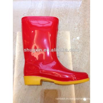 moda barato durable de alta lluvia zapato