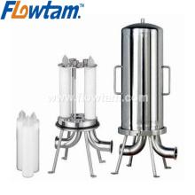 Boîtier de filtre à eau en acier inoxydable de qualité alimentaire