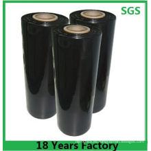 El tamaño de la película elástica 100% LDPE se puede personalizar