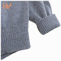 Hommes Knitted Intarsia Patterns Pull en coton Pique