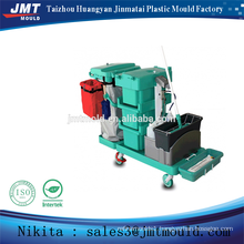 China injection plastic multipurpose cleaning trolley mold
